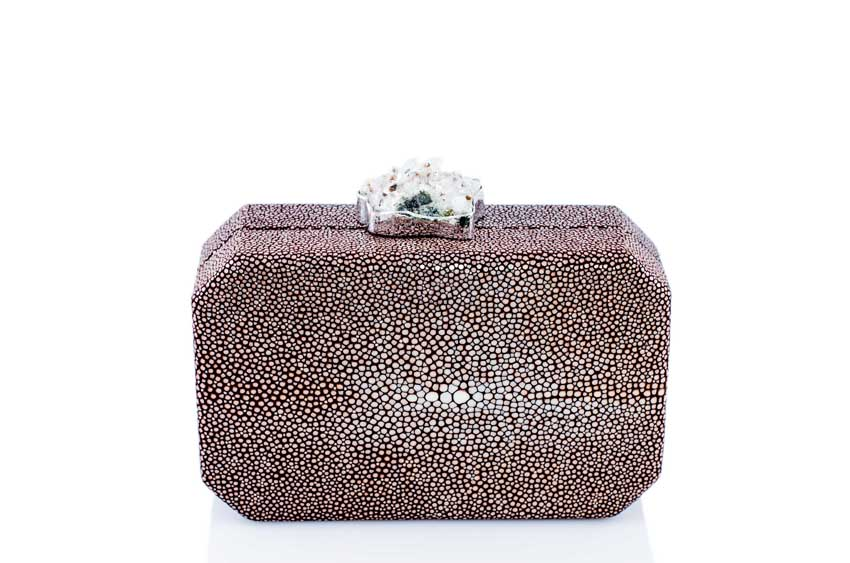 ANNA BLUM_ANDAMEE_MINAUDIERE CLUTCH_Brown with Chrystal_1