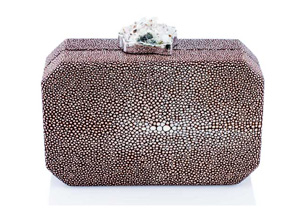 ANNA BLUM_ANDAMEE_MINAUDIERE CLUTCH_Brown with Chrystal_1_TB