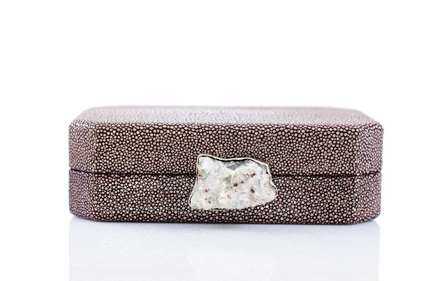 ANNA BLUM_ANDAMEE_MINAUDIERE CLUTCH_Brown with Chrystal_2