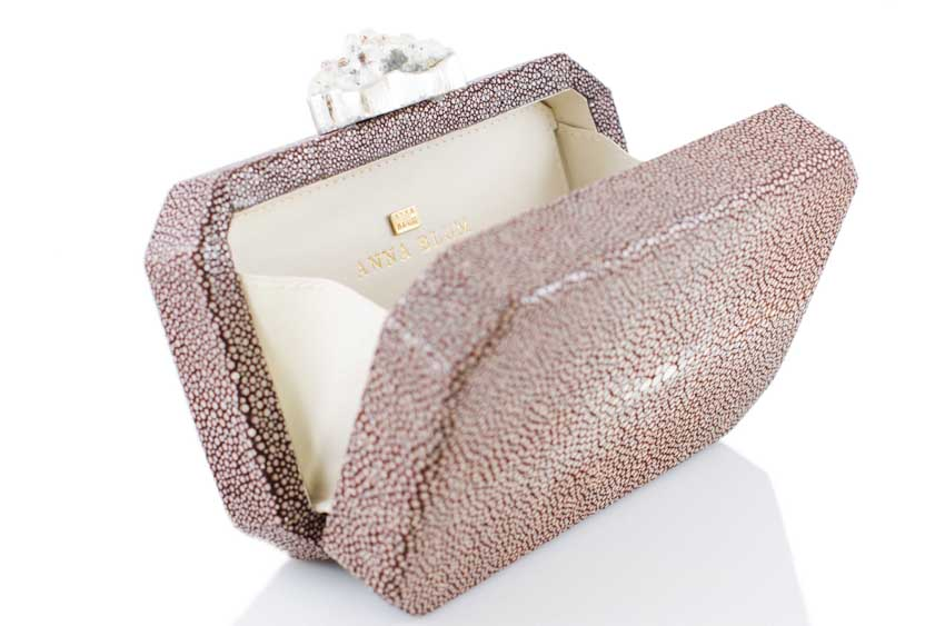 ANNA BLUM_ANDAMEE_MINAUDIERE CLUTCH_Brown with Chrystal_4