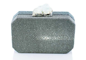 ANNA BLUM_ANDAMEE_MINAUDIERE CLUTCH_Grey with Blue Topaz_1_TB