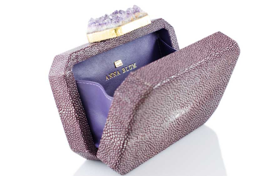 ANNA BLUM_ANDAMEE_MINAUDIERE CLUTCH_Plum with Amethyst_3