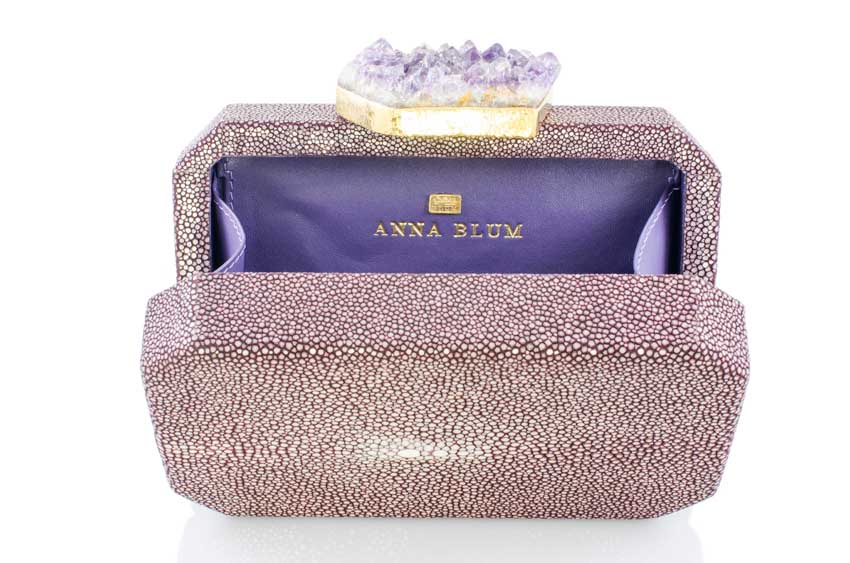 ANNA BLUM_ANDAMEE_MINAUDIERE CLUTCH_Plum with Amethyst_4