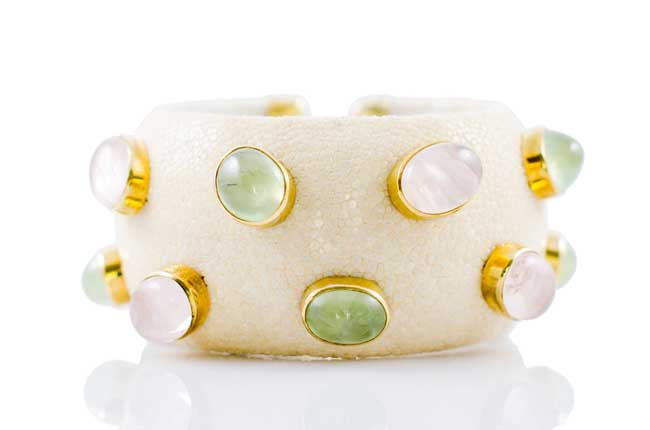 ANNA BLUM_CABAROQUE_CUFF BRACELET_Ivory_no pearls